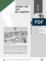 Fungsi, Persamaan Dan Pertidaksamaan Eksponen Dan Logaritma-Bab 7