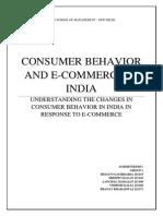 Consumer Behavior on E-Commerce