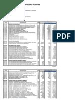 Presupuesto de Obra - Cuarta Edición
