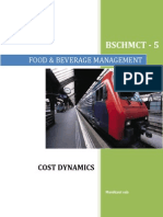 Cost Dynamics