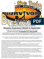 Survivour Breakfast Save the Date