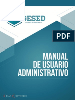 GESED - Manual de Usuario Administrativo