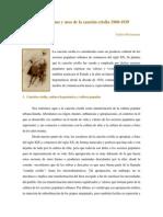 Apropiaciones y Usos de La Canción Criolla 1900-1939