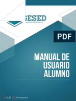 GESED - Manual de Usuario Alumno