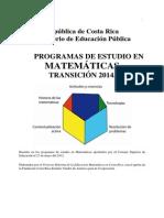 Plan Transicion 2014