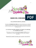 Bases Del Concurso CUYABRITO 2013