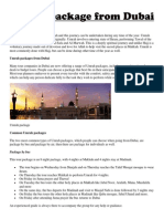 Umrah package from Dubai