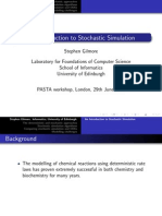 Stochastic Simulation Introduction