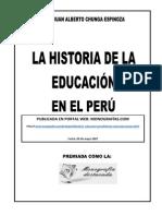 50727204 La Historia de La Educacion en El Peru