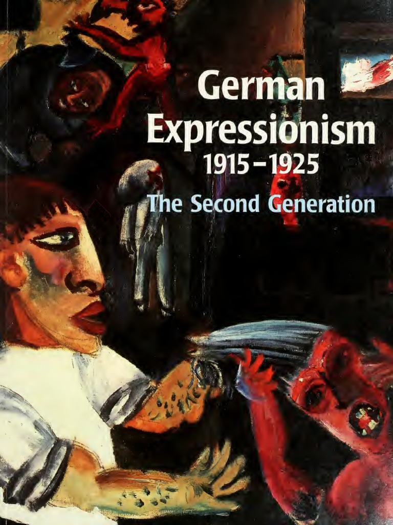 written essays on german expressionism This study looks into german expressionism and representative of this style, käthe kollwitz käthe kollwitz was a famous german painter essay writing blog.