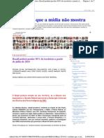 A Verdade Que a Mídia Não Mostra - Brasil Poderá Perder 50% de Seu Territorio Em 2014