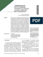 Informação e Sociedade- Estudos-18(3)2008-Os Novos Paradigmas Da Informacao e a Tv Digital- o Papel Das Tvs Universitarias Na Construcao de Conteudos de Maneira Colaborativa Atraves de Redes Interdisciplinares