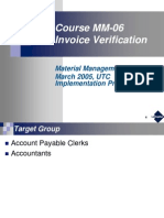 MM-06 Invoice Verification