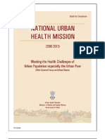 (Nuhm) National urban health mission Draft