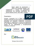 Plan estratégico global de penetración y posicionamiento en el mercado, dirigido a las cooperativas y uniones de cooperativas productoras de semillas certificadas de granos básicos (Arroz, frijol, Maíz y Sorgo) - Nicaragua, 2014