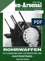 Waffen Arsenal - Band 188 - Rohrwaffen in Flugzeugen der Luftwaffe bis 1945 - Waffenstände