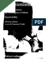David Sedley - Creazionismo. Il dibattito antico da Anassagora a Galeno