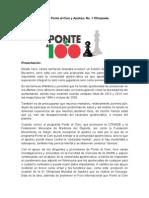 Boletín Ponte Al Cien y Ajedrez 1