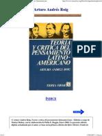 Arturo Andres Roig - Teoria y Critica del Pensamiento Latinoamericano.pdf