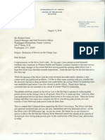 LeMunyon Letter to WMATA