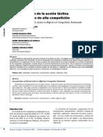 Sistematización de La Acción Táctica en El Taekwondo de Alta Competición (1)