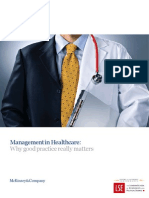 Management in Healthcare Report