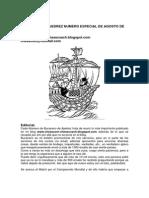 Bucanero Ajedrez Especial Agosto 2013