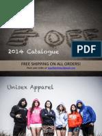 Fog Off Catalogue 2014