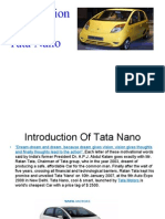 Presentation on Tata Nano