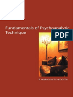 Fundamentele tehnicii psihanalitice