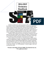 orchestra handbook 2014-15