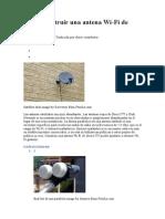 Cómo construir una antena Wi.doc