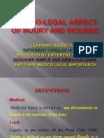 Medico-legal Aspect of Injury