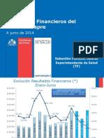 Resultados Financieros Sistema Isapres a Jun. 2014