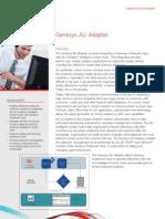 Ps Asset Datasheet Genesys Ali Adapter