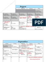 advanced algebra 2--1st semester calendar