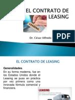 Parte 02 - El Contrato de Leasing Nuevo