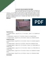 Fabricacion de Cuna de Madera Para Bebe