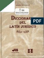 Diccionario Latín Jurídico