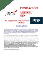 La Represión y El Proceso Contra El POUM, Ignacio Iglesias