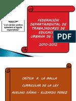 3. Critica a La Malla Curricular Ley 070