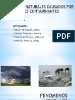 Fenómenos Naturales Causados Por Gases Contaminantes