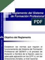 Reglamento Del Sistema de Formación Profesional - DZMT