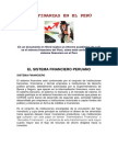 Las Finanzas en El Perú
