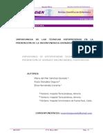 Www.recien.scele.org Documentos Num 8 May 2014 Revis Literatura Tecnicas Hipopresivas Incontinencia Urinaria