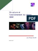 Structure Et Fonctionnement Du Réseau GSM