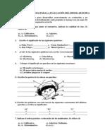 Banco de Preguntas Para La Evaluacion Del Idioma Quechua