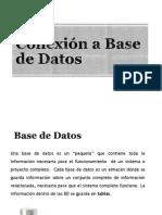 Conexión a Base de Datos