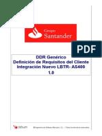 DDR- Documento Definición de Requisitos LBTR-AS400(VersiónFinal)