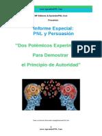 PNL y Persuasión-Dos Polémicos Experimentos Para Demostrar El Principio de Autoridad